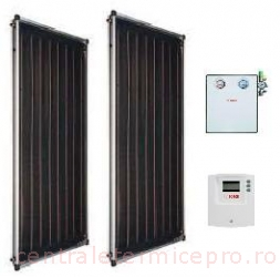 Pachet solar Bosch 4000TF 2xFCC220-2V+accesorii