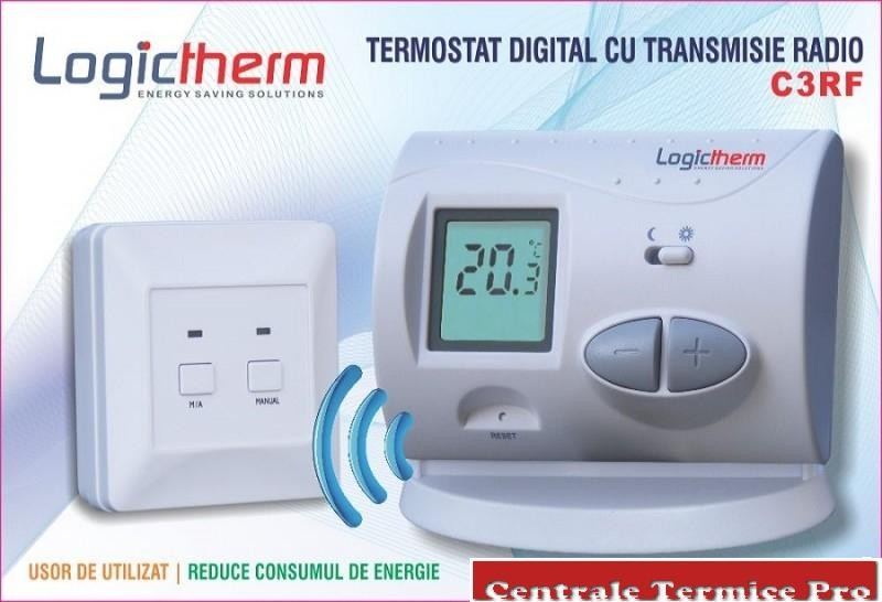 Termostat wireless Logictherm C3 RF