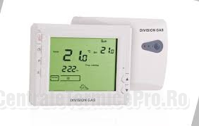 poza Termostat Division Gaz wireless DG 908WHB-RF