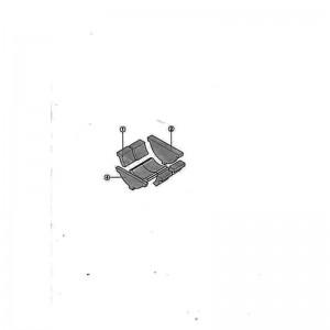 poza Caramida Samota Stanga-Dreapata L160 MM cazan lemne Buderus