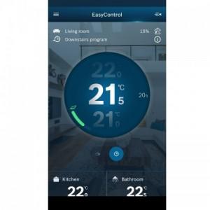 Poza Easycontrol CT200 Telecomanda inteligenta alba. Poza 2098